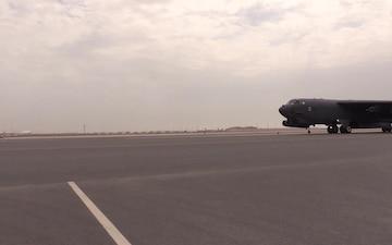 B-52 Stratofortress taxi