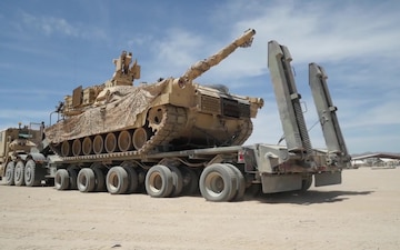 The Challenges of Logistics for Brigades at NTC