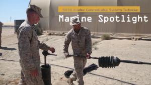 LSE-17 Marine Spotlight: Aviation Communication Systems Technician