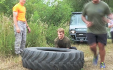 Camp Dodge Hosts 2nd Annual Trench Run