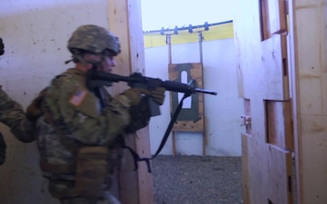 A/1-297th Infantry Shoot House Training