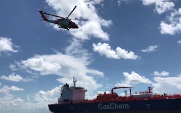 Coast Guard medevacs 55-year-old man from tanker