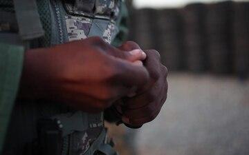 B-Roll: SPMAGTF-SC Marines teach pistol marksmanship during Dominican Republic pilot course