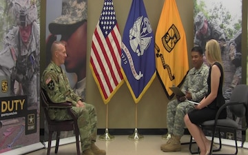 CSM John W. Troxell Provides Thoughts on Cadet Summer Training