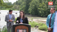 Springville Dam Project Agreement Signing