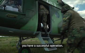 #WeAreNATO - the Bulgarian Special Forces operative - Master with subtitles