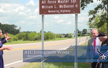 Ohio Highway Dedicated to Air Force Master Sergeant