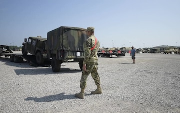 B-ROLL: Task Force Hoosier welcomes returning 76th Infantry Brigade Combat Team, Day 4