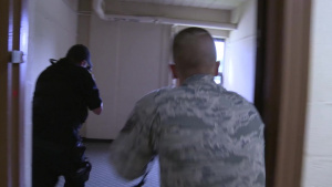 Security Forces Active Shooter training