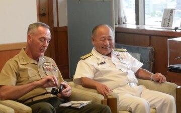 General Joe Dunford at Japan Ministry of Defense
