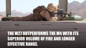 M27 Infantry Automatic Rifles