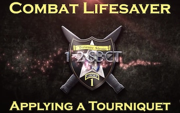 Combat Lifesaver - Applying a Tourniquet