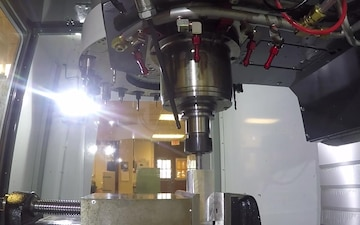 Haas VF-4 CNC Mill Time Lapse