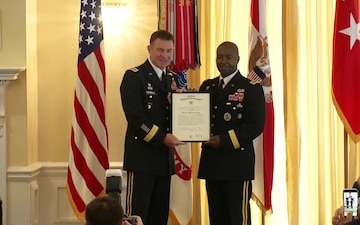 Promotion Ceremony in honor of MG Bruce T. Crawford