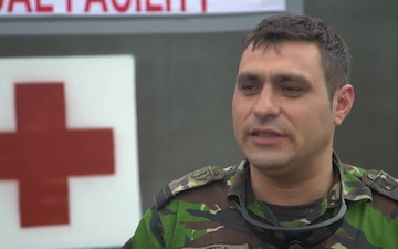 #WeAreNATO - The Romanian medic - IT Version