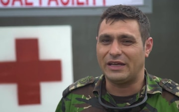 #WeAreNATO - The Romanian medic - IT Version with Music