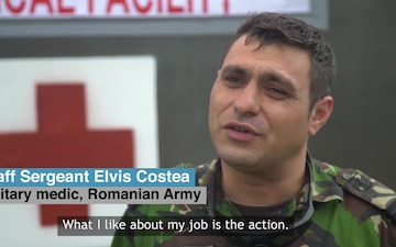 #WeAreNATO - The Romanian medic - Master with Subtitles
