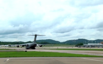 C-17 Taxi and Takeoff from 117th