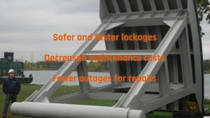 Lock Culvert Valves for navigation