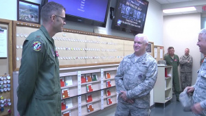 Lt. Gen. Rice visits 134 ARW