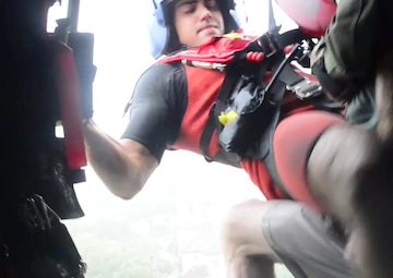 Photo link to video of Coast Guard rescues