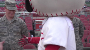 Cincinnati Reds Military Appreciation 2017