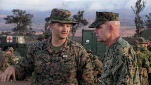 Commanding General visits Pohakuloa Training Area