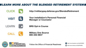 Blended Retirement System Opt-in