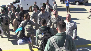 127th Air Refueling Group Returns From Southwest Asia