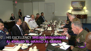 Mattis, Kuwaiti Leader Discuss Regional Stability