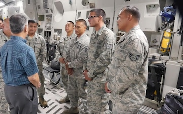 HIANG 204th AS departs for Hurricane Harvey Mission