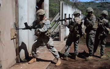 Combat Engineers, Marines Shotgun Door Breaching B-roll