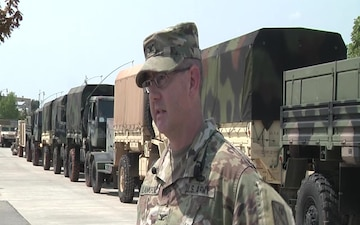 Oklahoma National Guard Task Force 271 deploys to Hurricane Harvey relief efforts
