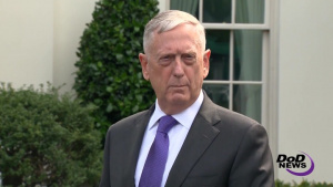 Mattis Briefs Reporters on North Korea