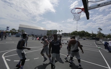 LA Fleet Week 2017: Basketball Tournament