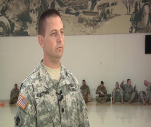 Lt. Col. Cory Newcomb - Oklahoma National Guard Task Force BSTB deploys to Hurricane Harvey relief efforts