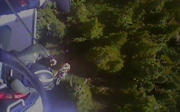Coast Guard medevacs hiker after injury in Olympic National Forest