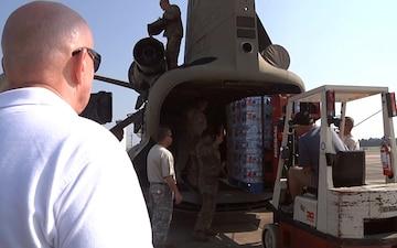 Texas Congressman Visits Water Delivery Effort in Conroe, TX Prime Cuts