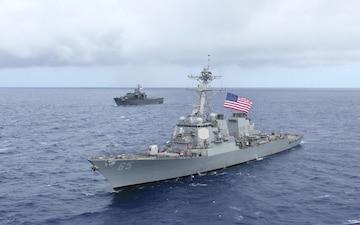 USS Benfold Aerial B-roll Prime Cut