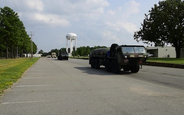 Arkansas Guardsmen Arrive in Little Rock for Hurricane Harvey Mobilization