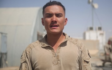 Lance Cpl. Lopez New York Giants shout-out