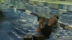 Iwakuni Marines dive through Aquatics Maximum Power Intense Training (Package/Pkg)