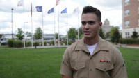 Marine Week Detroit: Veteran Luncheon Interview B-Roll