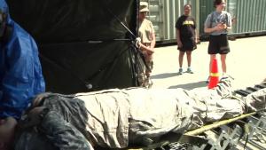 Bravo company 121 Decontamination Training