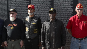 Vietnam Veterans Honored in Detroit