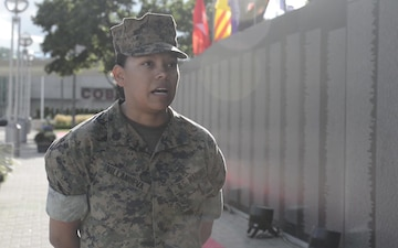 Marine Week Detroit: Vietnam Wall Memorial Interviews