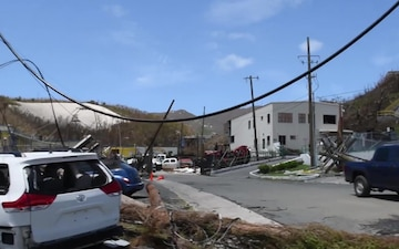 DoD Assists Virgin Islands with Irma Recovery