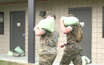 Marine Corps Air Station Beaufort Prepares for IRMA