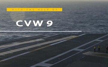 USS John C. Stennis Completes Flight Deck Certification