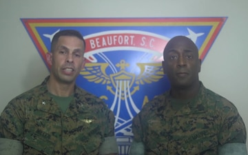A Message From MCAS Beaufort Commanding Officer and Sergeant Major